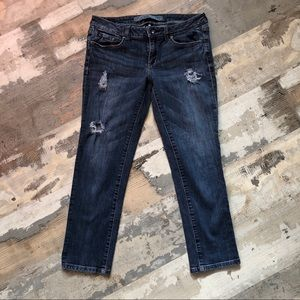 Refuge cropped ankle pants size 5 (run small)